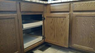 Blind Kitchen Corner Solution