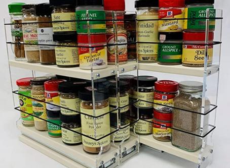 Spice Organizer for Cabinet