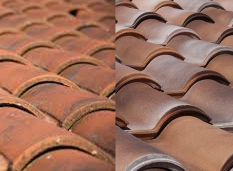 Can you tell which of these roofs use asbestos shingles?  We can!