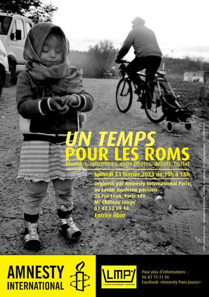 Exposition pour Amnesty International Paris