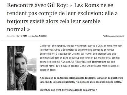 Interview pour le café des roumains