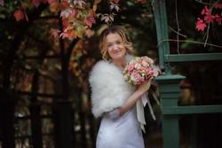 Свадебная фотосессия в Петергофе, фотограф на свадьбу в СПб