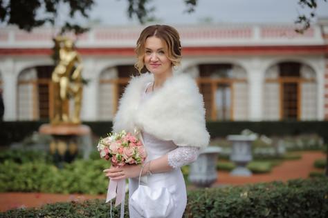 Свадебный фотограф Петергоф, фотосессия в Петродворце