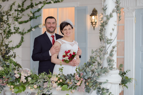 Свадебная фотосессия в фотостудии СПб, свадебный фотограф Лукин