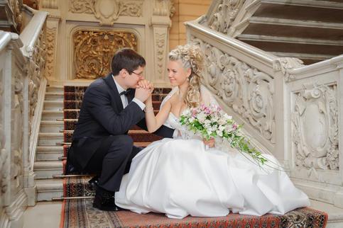фотограф на свадьбу СПб _ дворец на Англ