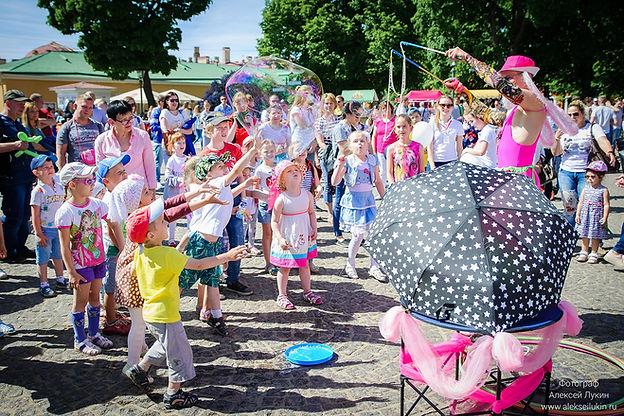 Фотограф на городской детский праздник
