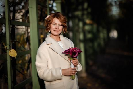 Свадебная фотосессия в Летнем Саду, фотограф в СПб на свадьбу.
