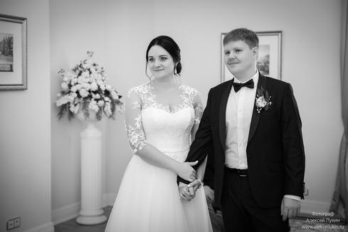 Регистрация брака Пушкин, фотосъёмка в загсе