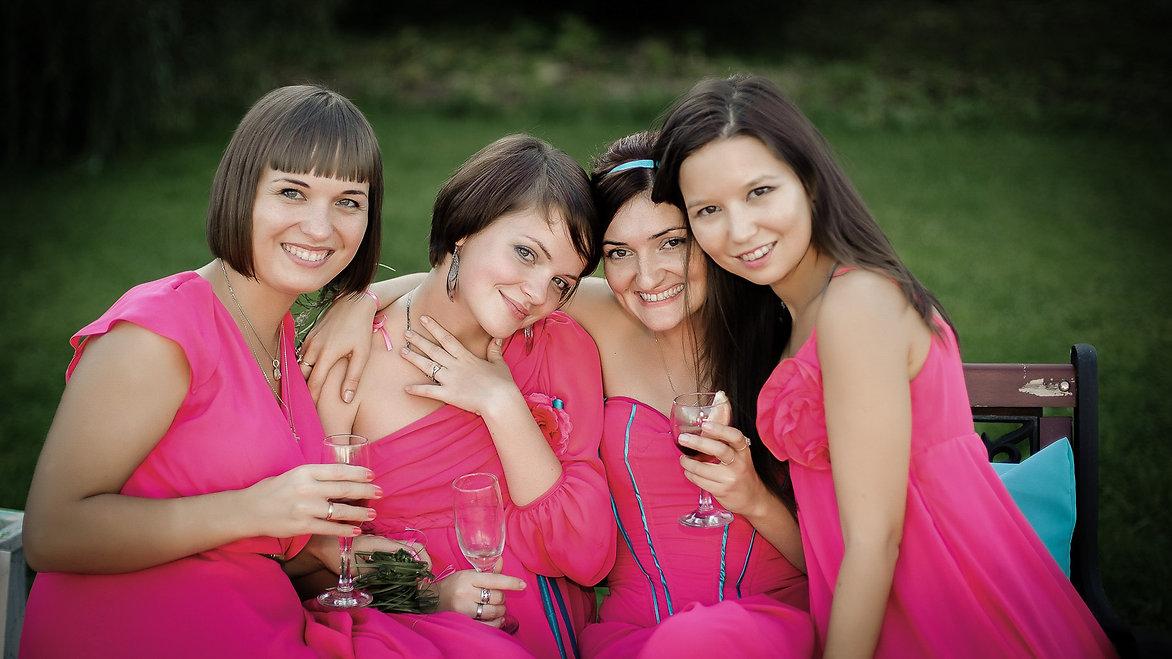 Свадьба, подружки невесты, фотограф спб
