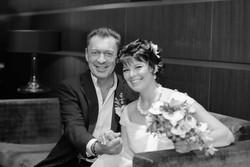 Свадебный фотограф в СПб, фотосессия в отеле для молодоженов.