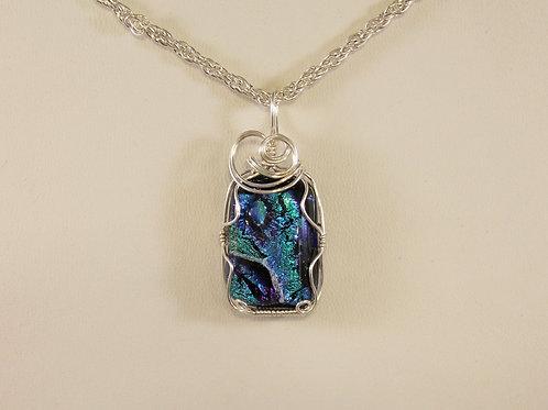 Ocean Blue Dichoric Glass  356