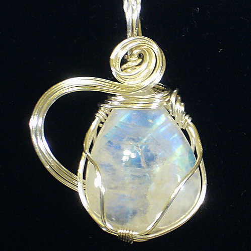 BLUE MOONSTONE TEARDROP
