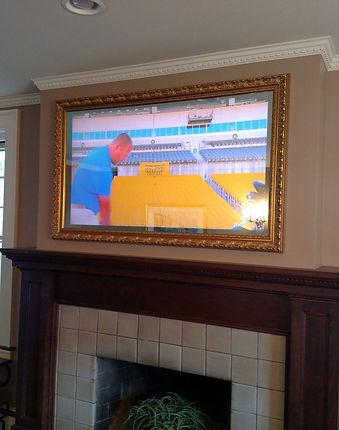 Television Framed