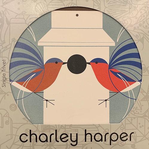 Charley Harper Trivet
