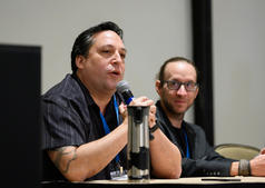 Conference speakers Jonathan Givens and Eric Pare