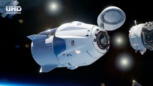 OVNIS EN EL ACOPLE DE SPACE X EN LA ISS