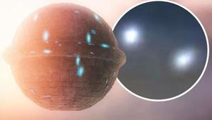 ORBES BRILLANTES EVIDENCIA ALIENS OBSERVANDO LA HUMANIDAD