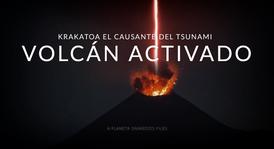 ACTIVARON EL VOLCÁN KRAKATOA CAUSANTE DEL POTENTE TSUNAMI EN INDONESIA