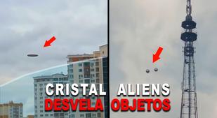 UN FILTRO DE CRISTAL ALIENÍGENA MUESTRA OVNIS EXTRATERRESTRES
