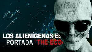 ALIENÍGENAS QUE VIENEN DEL ESPACIO LA PORTADA THE ECONOMIST