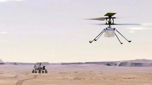 El HELICÓPTERO INGENUITY DE LA NASA, REALIZA SU PRIMER VUELO EN MARTE