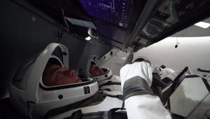 SIGUE AQUÍ EN DIRECTO EL LANZAMIENTO SpaceX y la NASA CON TRIPULACIÓN