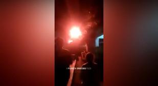 LUZ EXTRAÑA EN LOS CIELOS DE INDRAMAYU INDONESIA 24 DE AGOSTO 2018
