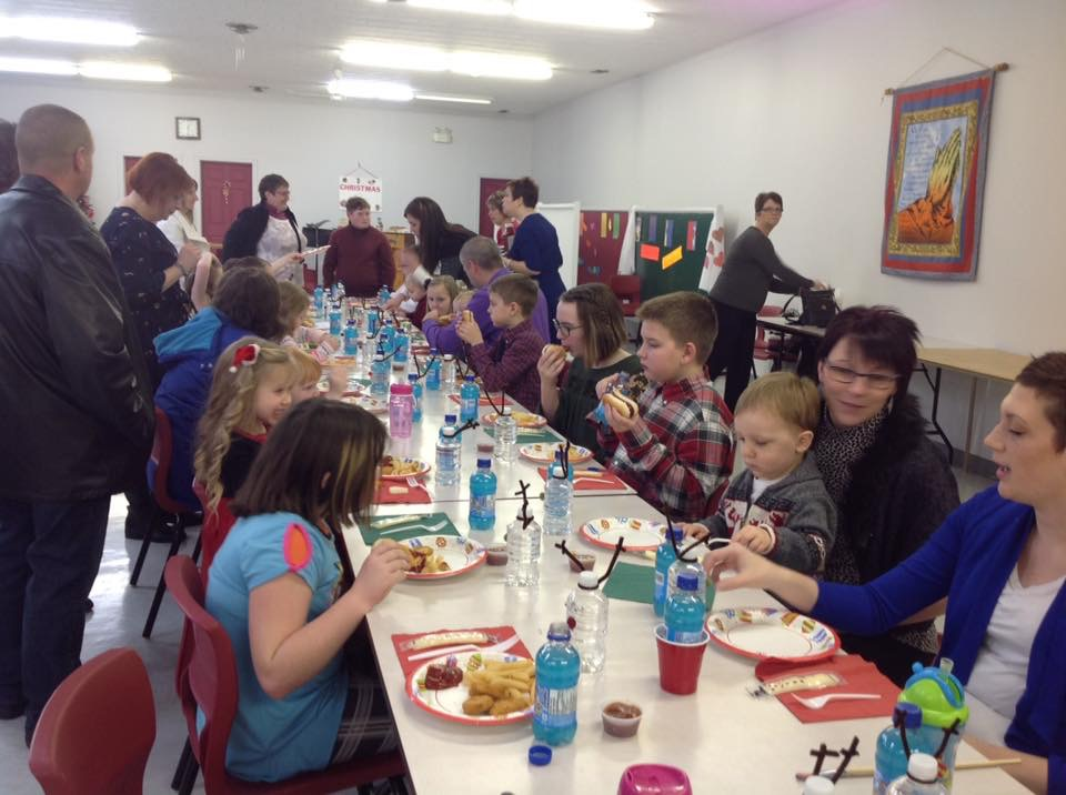 Sunday School Christmas Party 2016