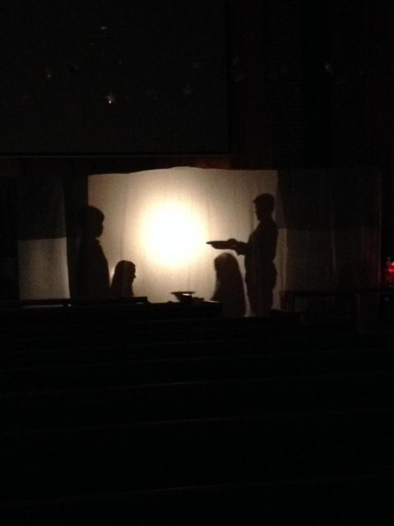 Offering the Gifts at the Manger