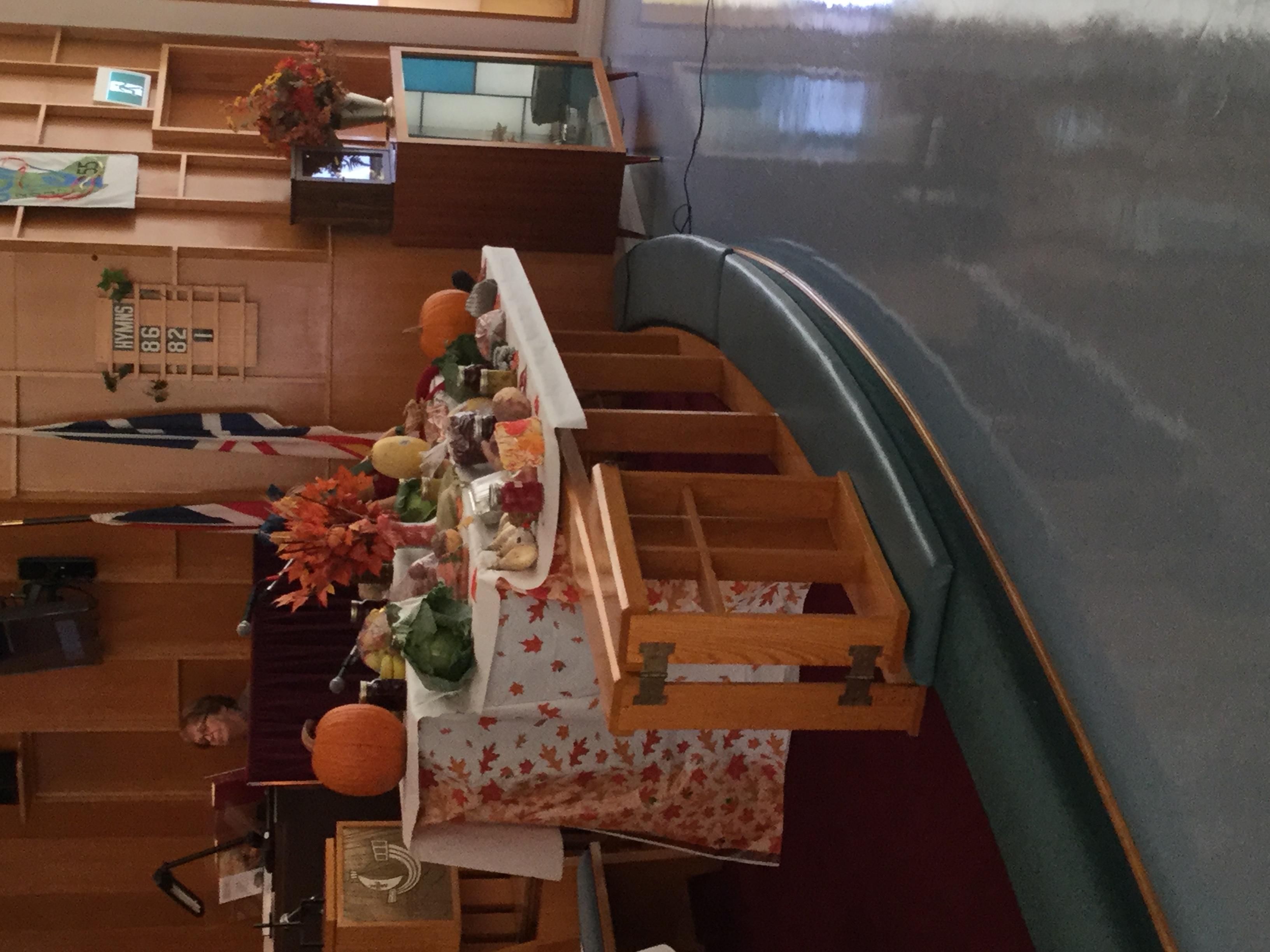 Harvest Table 2018