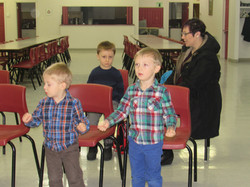 Liam, Logan & Canlin Sunday School
