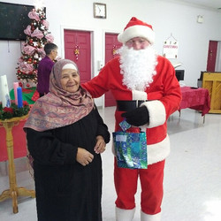 Santa pays a visit at the UCW