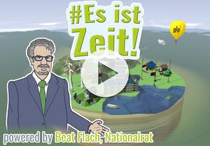 Startscreen zu #EsIstZeit-Game, Beat Flach, Kandidat Ständerat Aargau, Eidgenössische Wahlen 2019
