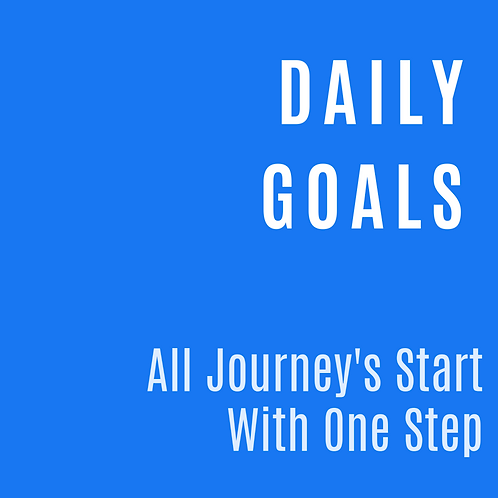 DAILY GOALS PLANNER