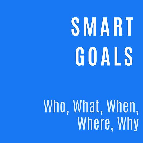 SMART GOALS PLANNER