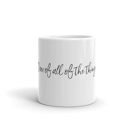 Doer of All of the Things Mug