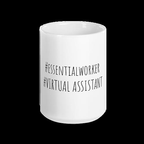 Essential Worker Mug- #VirtualAssistant