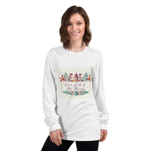 Doer of all of the Things- Floral Long Sleeve