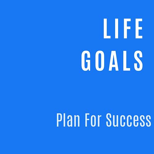 LIFE GOALS PLANNER
