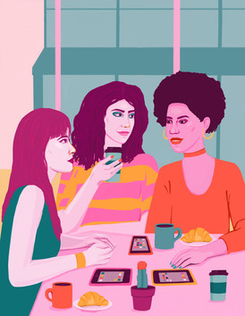 Apps, Friend Dates, And One Woman's Quest To Form Bonds IRL