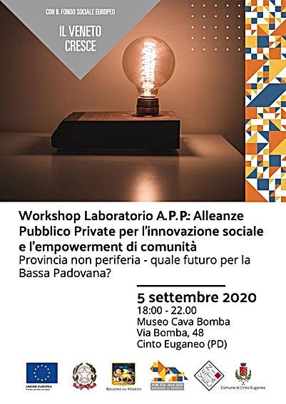 Workshop CINTO EUG. Provincia non Perife