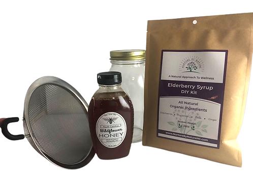 Elderberry Syrup- DIY Kit Starter Set