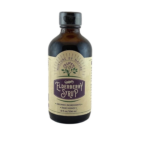 Elderberry Syrup (Honey)
