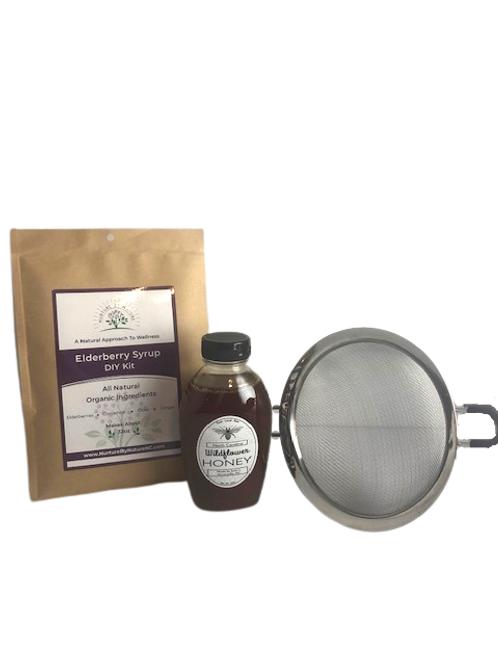 Elderberry Syrup DIY Kit: Basic Starter Set