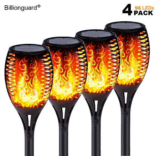 LED Solar Flame Lights Outdoor IP65 Waterproof