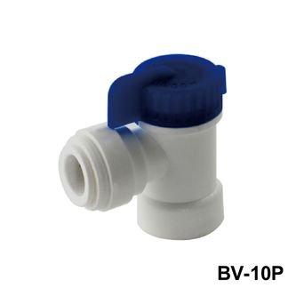 Válvula de bola para agua/ Válvula de bola para filtro (Codo plástico EZ)