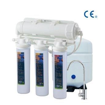Ósmosis inversa de 4 etapas/ Filtro De Agua de ósmosis Inversa sin bomba de refu