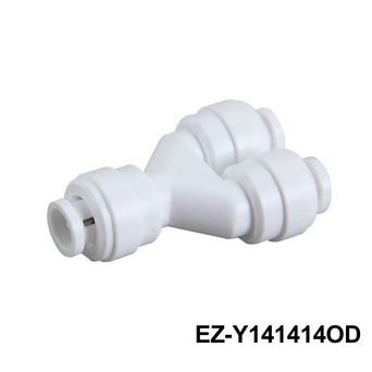 Filter Elbow Fitting / RO Elbow Fitting(Plastic Two Way Divider)