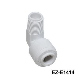 Accesorio codo filtro de agua/ Accesorio codo(plástico EZ Codos masculinos)