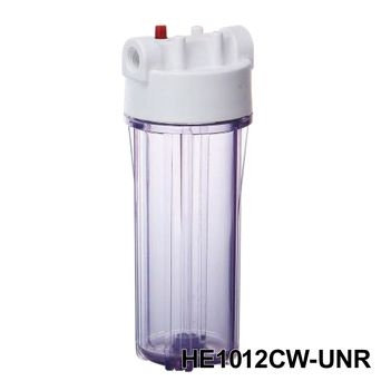 HE - Water Filter Housing / Ro Housing(Rib Round Cap)